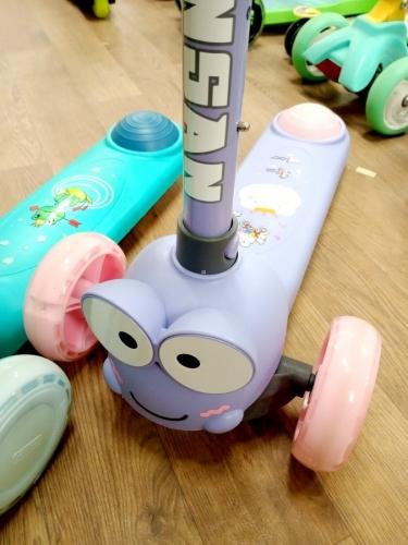 21001 Самокат детский 3-х колёс.  MIX 3 цвета 0