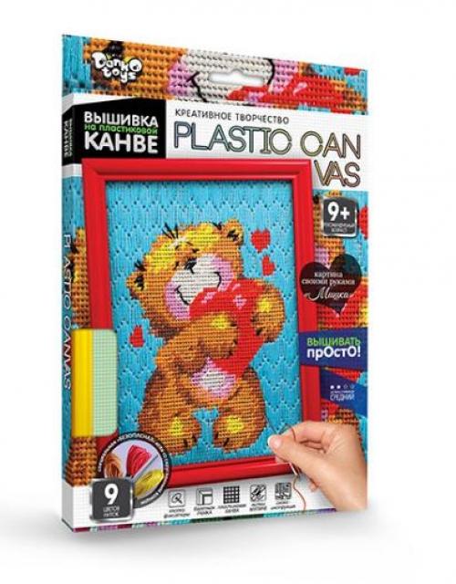 09100  Набор для вышивки на пластиковой канве PLASTIC CANVAS, данко тойс 0