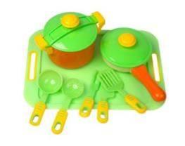 04-427  Посуда 11 предм  с  подносом