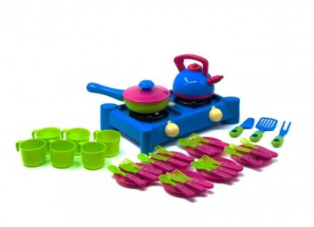 04-416  Плита с посудой,  (10шт/уп)