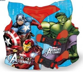 17019  Жилет надувной LA17019 (120шт) в пакете 40 см  супер герои