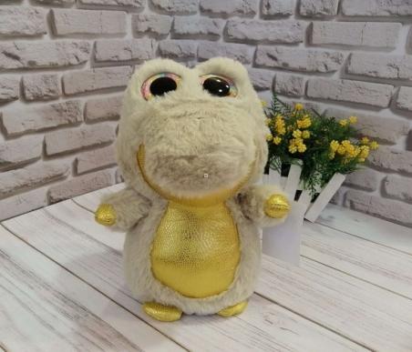 1016  Мягкая игрушка  глазастики крокодил 30 см