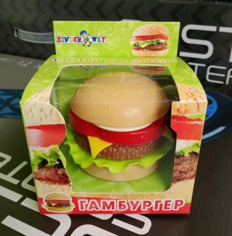 100-001 Гамбургер  в  коробке /60/