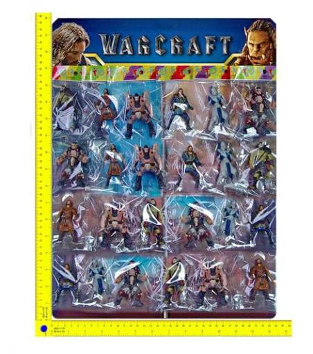 8221  Герои  warcraft 8221 (72планш по 24шт/2) на планшетке 40*45см