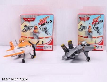 Самолет инерц. XZ-110/111 , 2 вида, в кор. 14*14*7см
