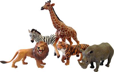 Наборы животных