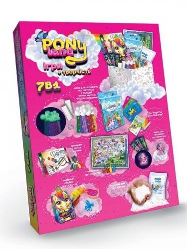 09300 Креативна  творчість  Pony Land 7 в  1 0