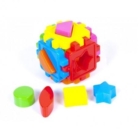 50-101  Логический куб-сортер ,с геометрич.фигурами