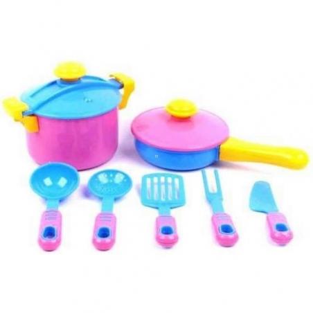 04-433  Посуда , 9 предметов