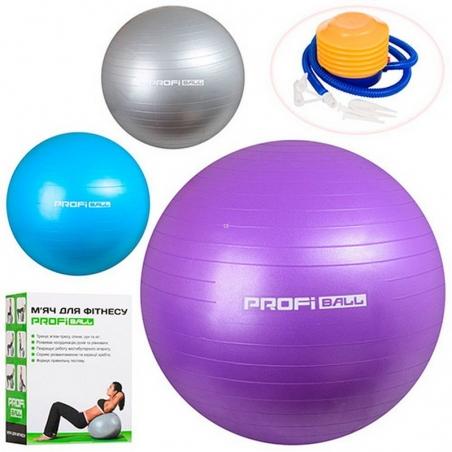 1539  Мяч для фитнеса 55см, фитбол