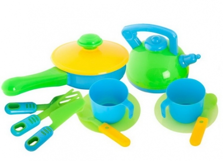 04-432  Посуда , 13 предм. (10шт/уп)
