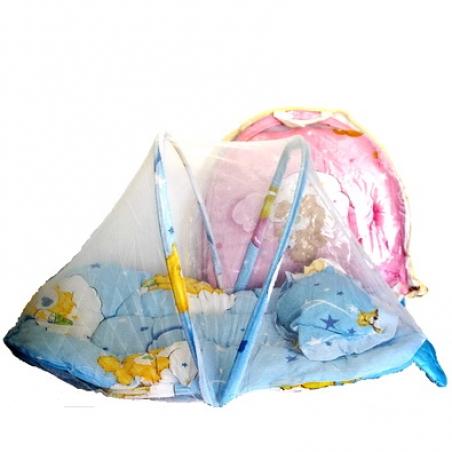 Коврик для младенца с маскитной сеткой 6500-18