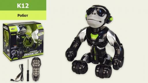 12  Робот-обезьяна аккум. р/у танцует,поет,переворачивается,в коробке 35,6*21,1*32,4см