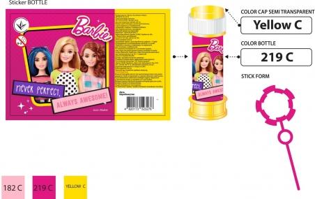 0073  Мыльные пузыри ,Barbie