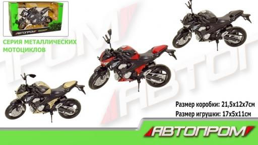 7751  Мотоцикл метал-пластик.инерц