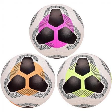 2042  Мяч футбол FB размер 5, 420 грамм, 3 цвета, микс